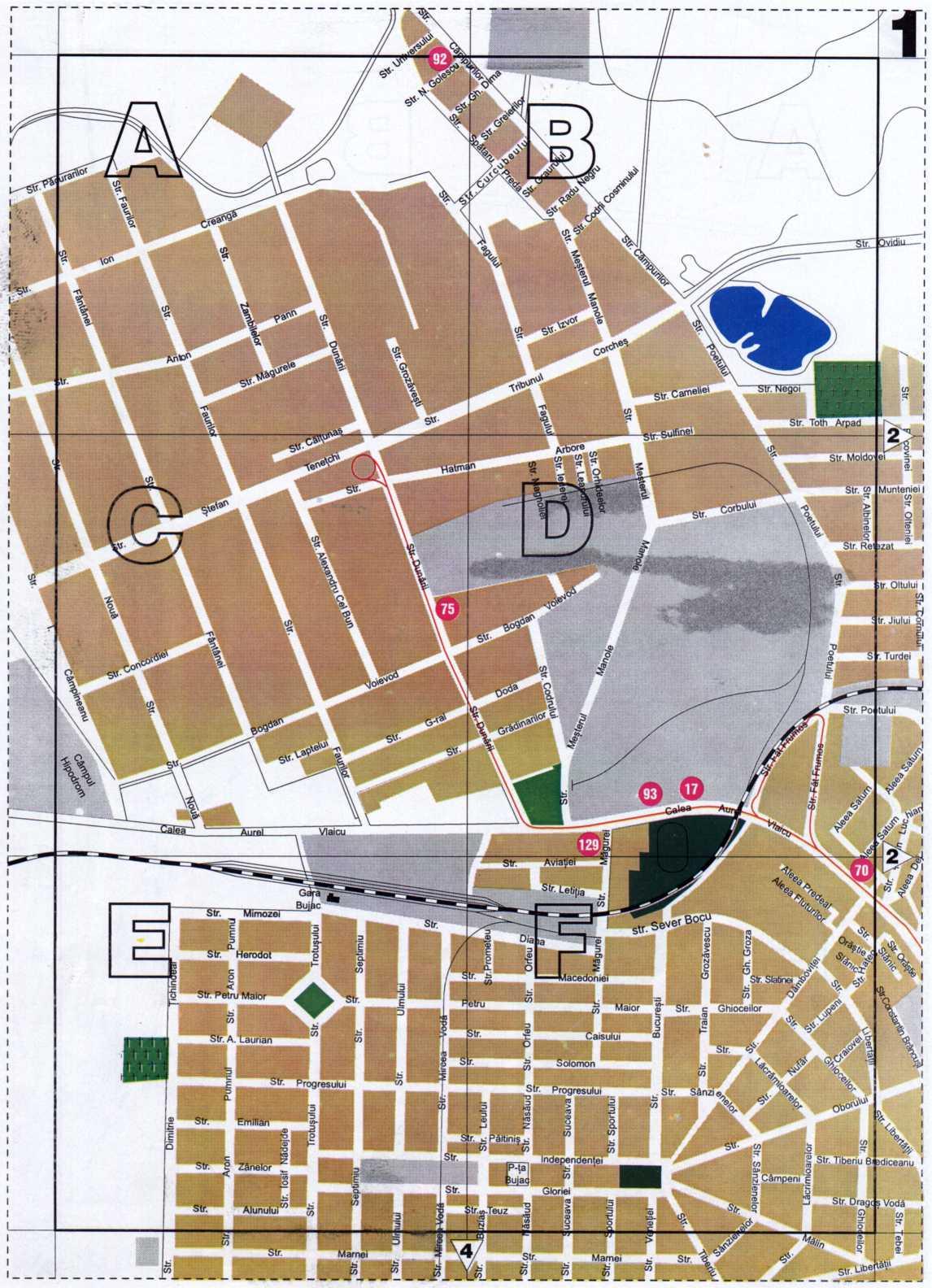 Virtual Arad Maps