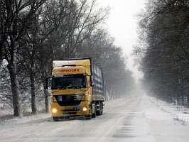 Pe Drumurile Din Judet Se Circula In Conditii De Iarna